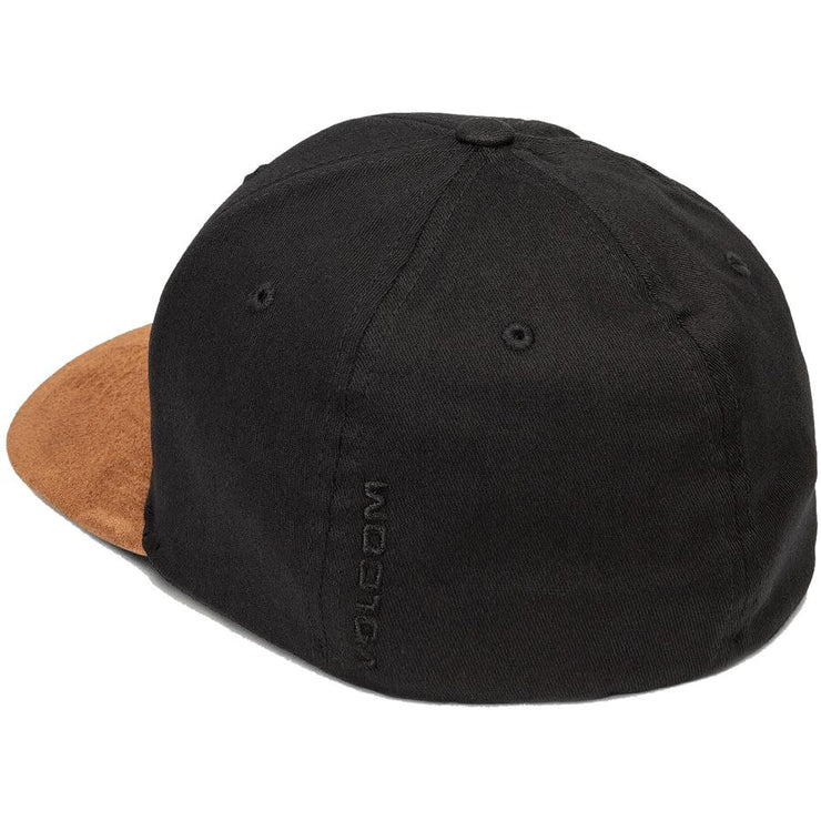 Surf Shop, Surf Clothing, Volcom, Full Stone Heather X-Fit, Cap, Mud
