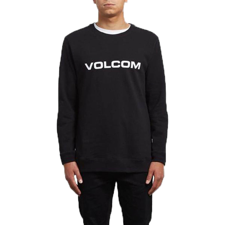 Surf Shop, Surf Clothing, Volcom, Imprint Crew, Sweatshirt, Black