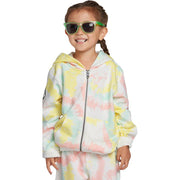 Surf Shop, Surf Clothing, Volcom, Little Girls Zippety Zip Hoodie, Hoodies, Multi