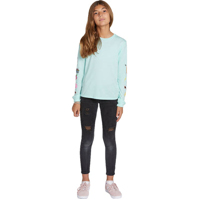 Surf Shop, Surf Clothing, Volcom, Made From Stoke LS, T-Shirt, Teal