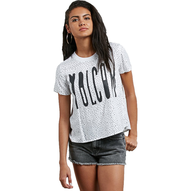 Surf Shop, Surf Clothing, Volcom, Mix A Lot SS, Tshirt, Star White