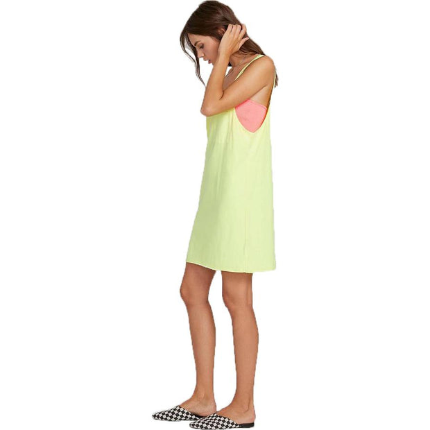 Surf Shop, Surf Clothing, Volcom, Neon And On Dress, Dresses, Neon Yellow