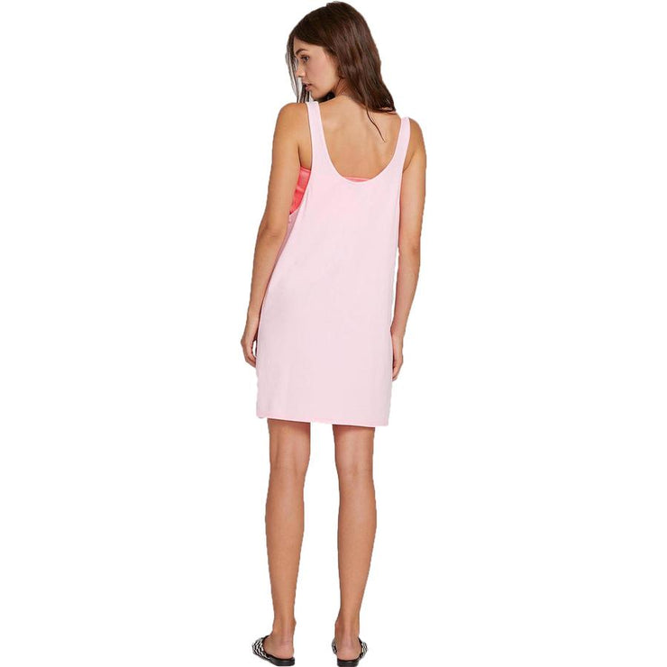 Surf Shop, Surf Clothing, Volcom, Neon On And On Dress, Dress, Neon Pink