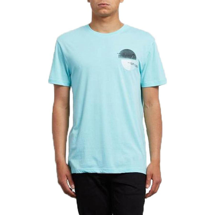 Surf Shop, Surf Clothing, Volcom, Over Ride DD SS, Tshirt, Turquoise