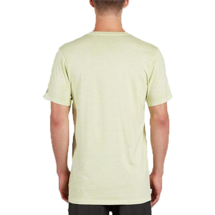 Surf Shop, Surf Clothing, Volcom, Pale Wash Solid, Tshirt, Mist Green