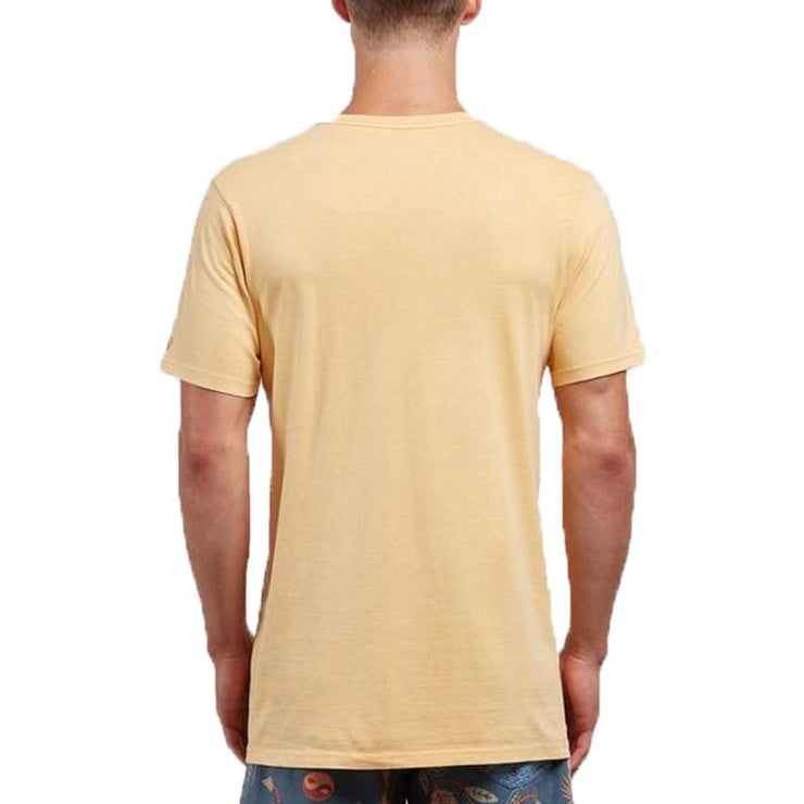 Surf Shop, Surf Clothing, Volcom, Pale Wash Solid, Tshirt, Sunburst