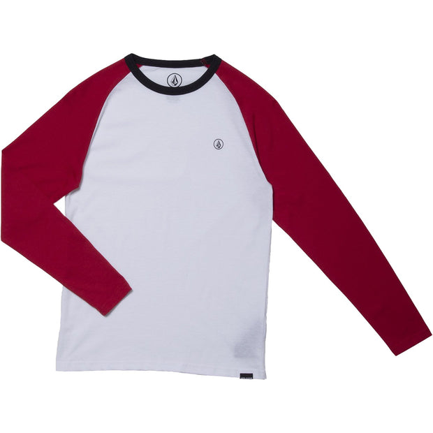 Surf Shop, Surf Clothing, Volcom, Pen BSC LS, T-Shirt, Engine Red