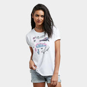 Surf Shop, Surf Clothing, Volcom, Ride The Stone, Tshirt, White