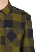 Surf Shop, Surf Clothing, Volcom, Shade Stone Long Sleeve Shirt, Shirts, Sonic Green