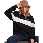 Surf Shop, Surf Clothing, Volcom, Short Taxx Pullover, Sweatshirt, Black