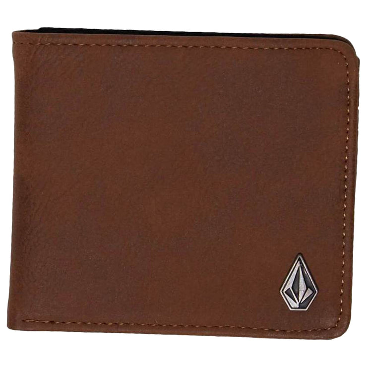 Surf Shop, Surf Clothing, Volcom, Slim Stone Wallet, Wallets, Brown