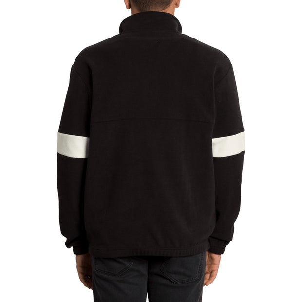 Surf Shop, Surf Clothing, Volcom, Trekker Sherpa Crew, Sweatshirts, Black