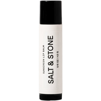 Surf Shop, Surf Essentials, Salt & Stone, SPF 30 Lip Balm, Skin Care, White