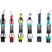 Surf Shop, Surf Hardware, 6FT Regular Essential Leash, Leashes, All Colours