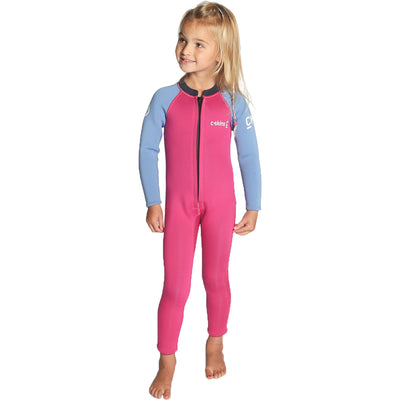 Surf Shop, Surf Hardware, C-Skins, Baby Steamer 2019, Wetsuit, Magenta/Powder Blue