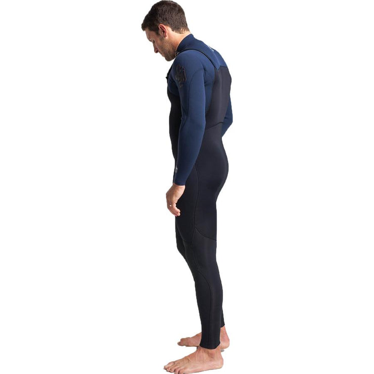Surf Shop, Surf Hardware, C-Skins, Rewired 3/2 Chest Zip, Wetsuit, Black/Charcoal/Diamond