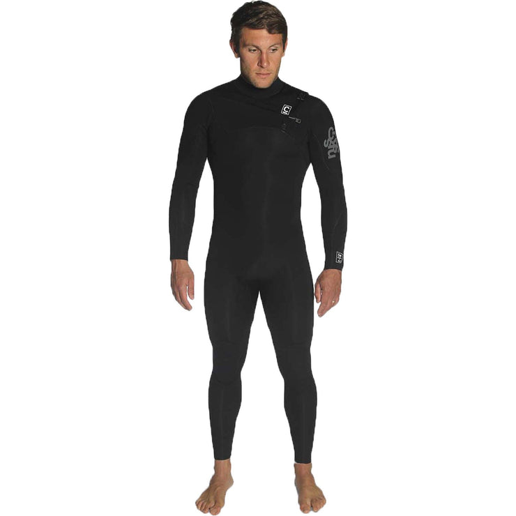 Surf Shop, Surf Hardware, C-Skins, Session 3/2 Chest Zip Steamer, Wetsuit, Black