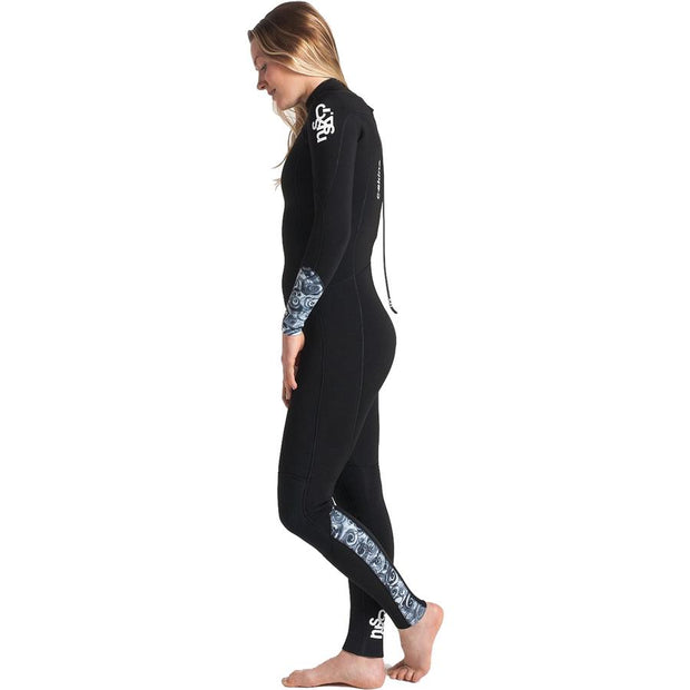 Surf Shop, Surf Hardware, C-Skins, Solace 3/2 Back Zip, Wetsuit, Black/Mono Shells