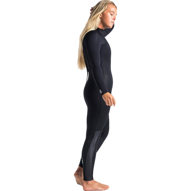 Surf Shop, Surf Hardware, C-Skins, Surflite 5/4/3 Back Zip Steamer, Wetsuit, Raven Black/Dark Shade