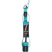 Surf Shop, Surf Hardware, FCS, 7FT Essential Regular Leash, Leashes, Blue