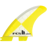 Surf Shop, Surf Hardware, FCS, Carver PC Tri Fins, All Sizes, Fins, Yellow