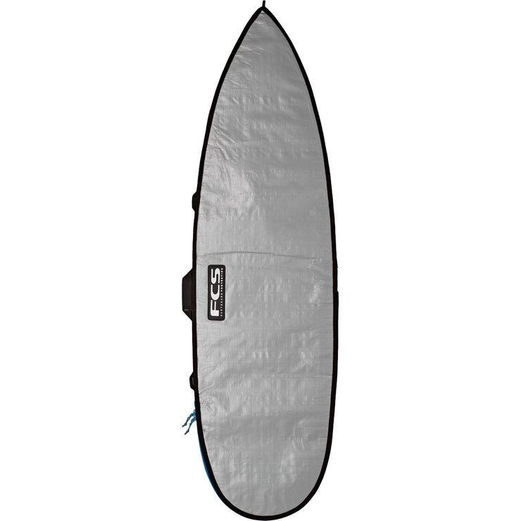 Surf Shop, Surf Hardware, FCS, Classic Short Board Bag, Boardbags, All Sizes, Silver/Tarpee