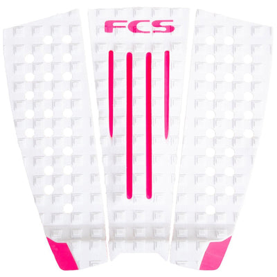 Surf Shop, Surf Hardware, FCS, FCS JW Deck Pad, Limited Edition, Deckpads, White/Pink