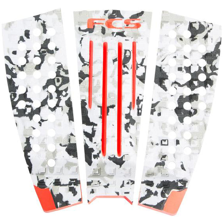 Surf Shop, Surf Hardware, FCS, FCS Julian Wilson Deck Pad, Deck Pad, Orange/Camo