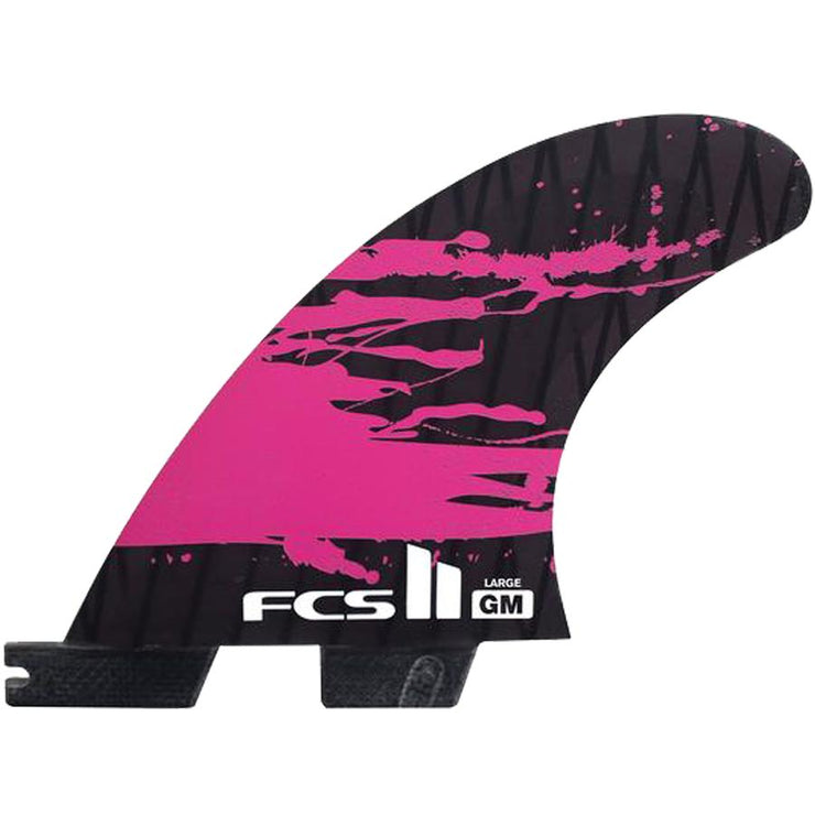 Surf Shop, Surf Hardware, FCS, GM PCC Thruster, Large, Fins, Pink