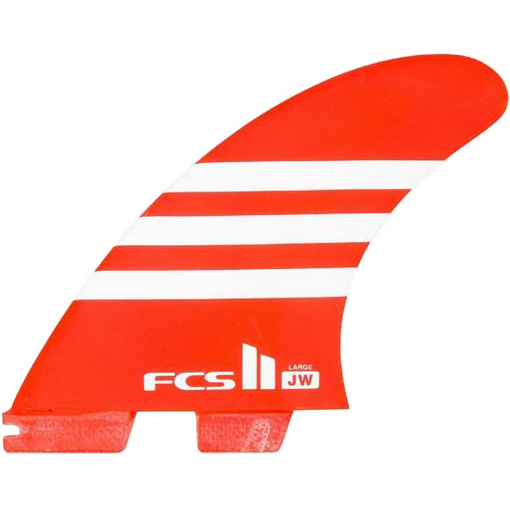 Surf Shop, Surf Hardware, FCS, JW Air Core Thruster, Fins, Large, Orange