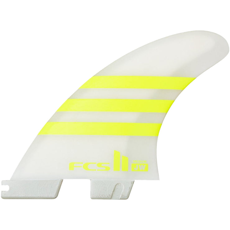 Surf Shop, Surf Hardware, FCS, JW Air Core Thruster, Fins, Medium, Yellow