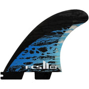 Surf Shop, Surf Hardware, FCS, MD PC Carbon Tri Fins, Large, Fins, Blue