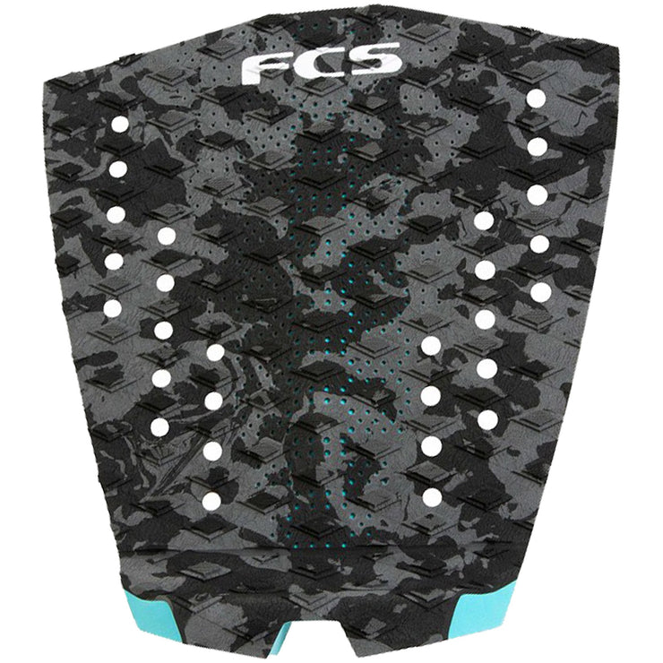Surf Shop, Surf Hardware, FCS, T1 Essential Series Pad, Deck Pad, Charcoal Camo