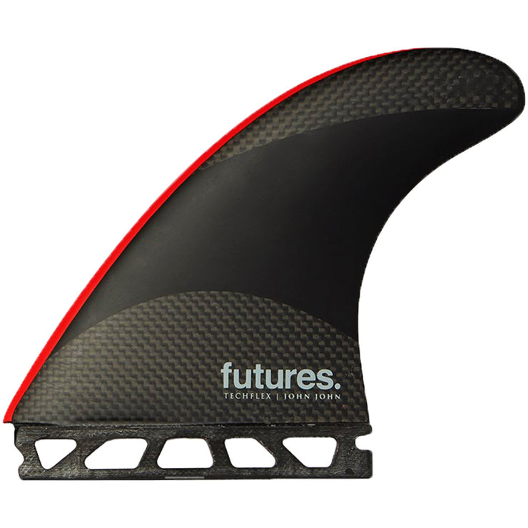 Surf Shop, Surf Hardware, Futures, JJF Techflex Thruster, Fins, Large, Black