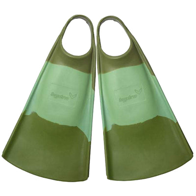 Surf Shop, Surf Hardware, Hydro, The OG Fins, Bodyboard Fins, Green/Olive