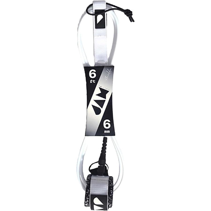 Surf Shop, Surf Hardware, Jam Traction, 6ft Shredder Leash, Leashes, White