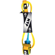 Surf Shop, Surf Hardware, Jam Traction, 6ft Shredder Leash, Leashes, Yellow
