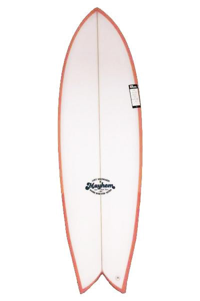 "Surf Shop, Surf Hardware, Lost, RNF Retro Peach 5'6"" Futures, Surfboard, Peach"