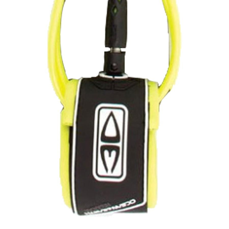 Surf Shop, Surf Hardware, Ocean & Earth, 6FT All Round/Comp, One Piece Leash, Leashes, Yellow