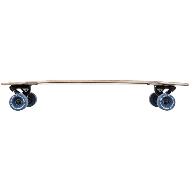 Surf Shop, Surf Hardware, Quiksilver, Sixties Cruiser, Skateboard, Black