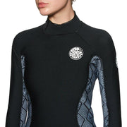 Surf Shop, Surf Hardware, Rip Curl, Dawn Patrol 3/2 Back Zip, Wetsuit, Black