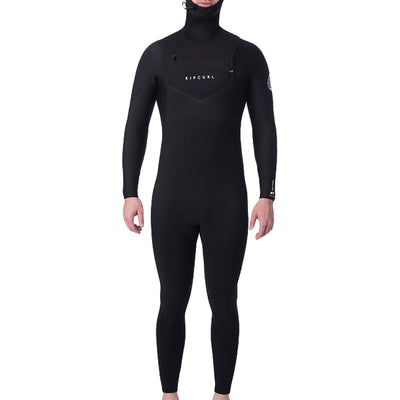 Surf Shop, Surf Hardware, Rip Curl, Dawn Patrol 5/4 Hooded, Wetsuits, Black