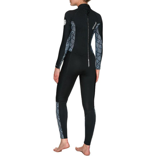 Surf Shop, Surf Hardware, Rip Curl, Dawn Patrol 5x3mm, Wetsuit, Black/White