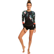 Surf Shop, Surf Hardware, Rip Curl, Madi Long Sleeve Boyleg, Wetsuit, Coral