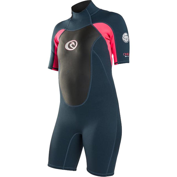 Surf Shop, Surf Hardware, Rip Curl, Omega 1.5mm Shorti, Wetsuit, Neon Pink