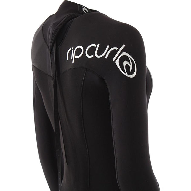 Surf Shop, Surf Hardware, Rip Curl, Omega 3/2 Back Zip, Wetsuit, Black