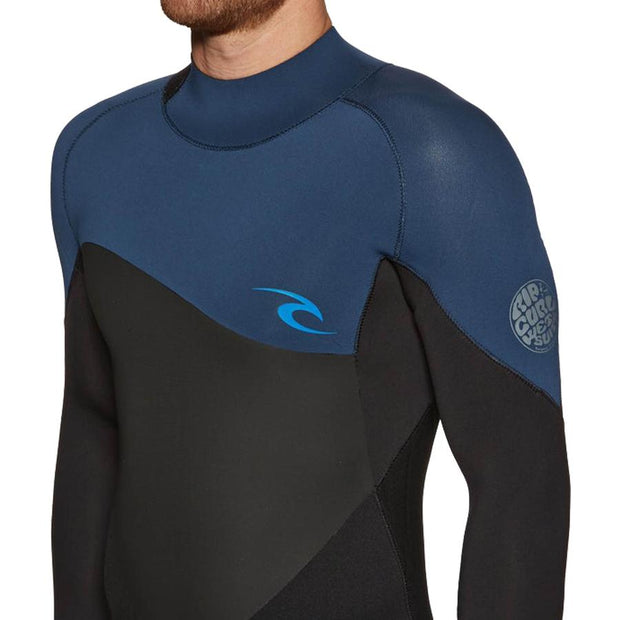 Surf Shop, Surf Hardware, Rip Curl, Omega 3/2 Back Zip, Wetsuit, Navy