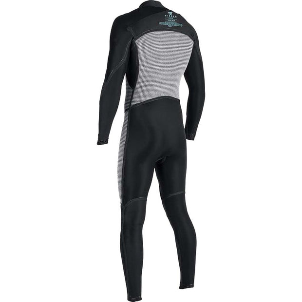 Surf Shop, Surf Hardware, Vissla, 7 Seas 3/2 Full 50/50 Chest Zip, Wetsuit, Dark Brown