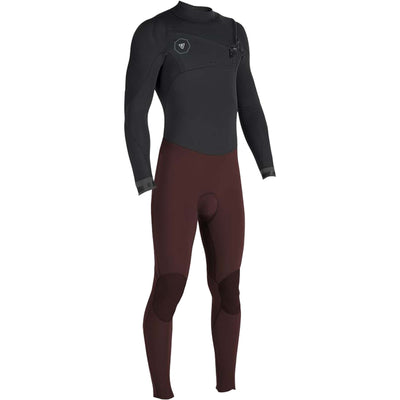 Surf Shop, Surf Hardware, Vissla, 7 Seas 3/2 Full 50/50 Chest Zip, Wetsuit, Wine