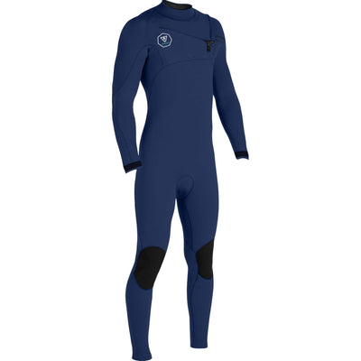 Surf Shop, Surf Hardware, Vissla, 7 Seas 3/2 Full Suit Chest Zip, Wetsuit, Dark Naval